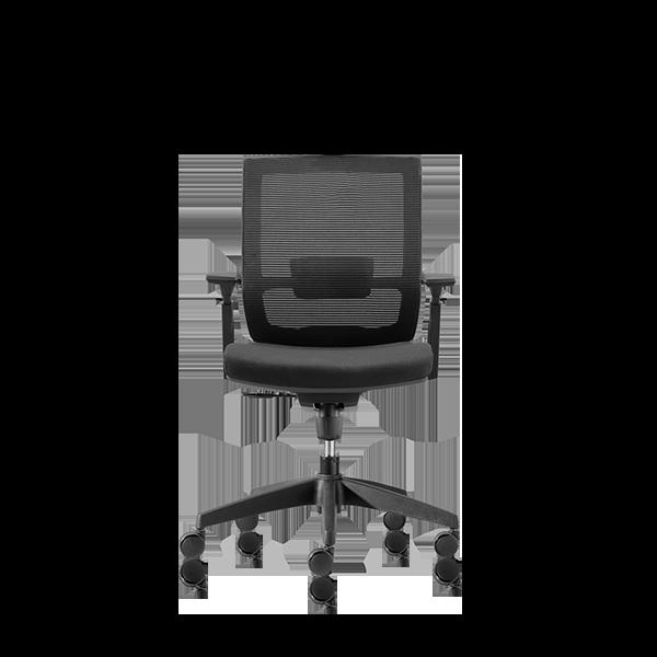 Silla de escritorio Axis negro