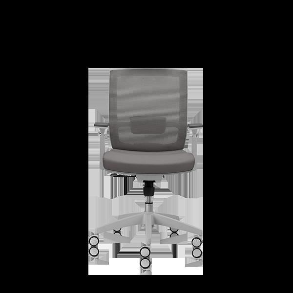Silla de escritorio Axis gris claro