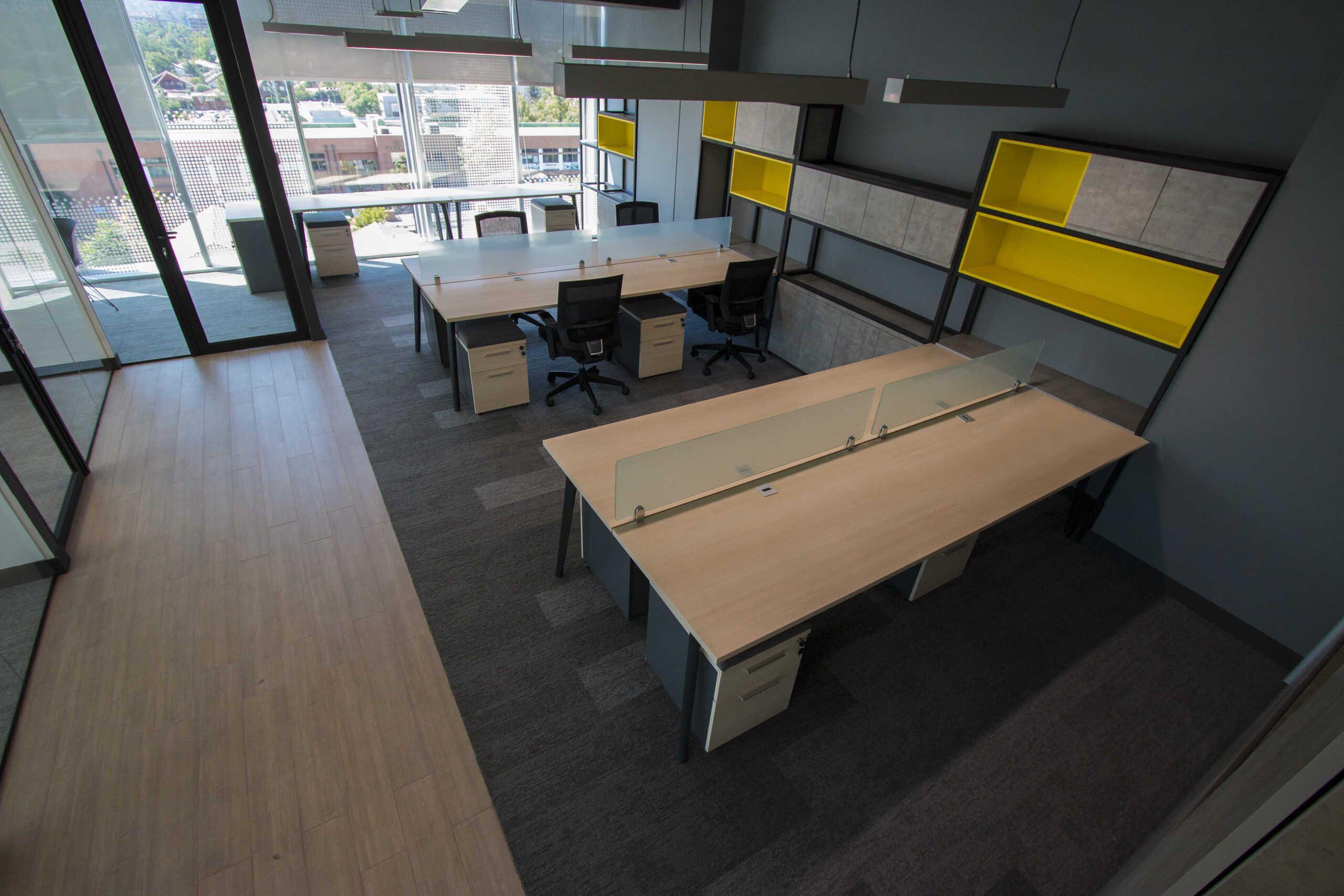 A3 muebles de oficina escritorios bench Santiago, Chile