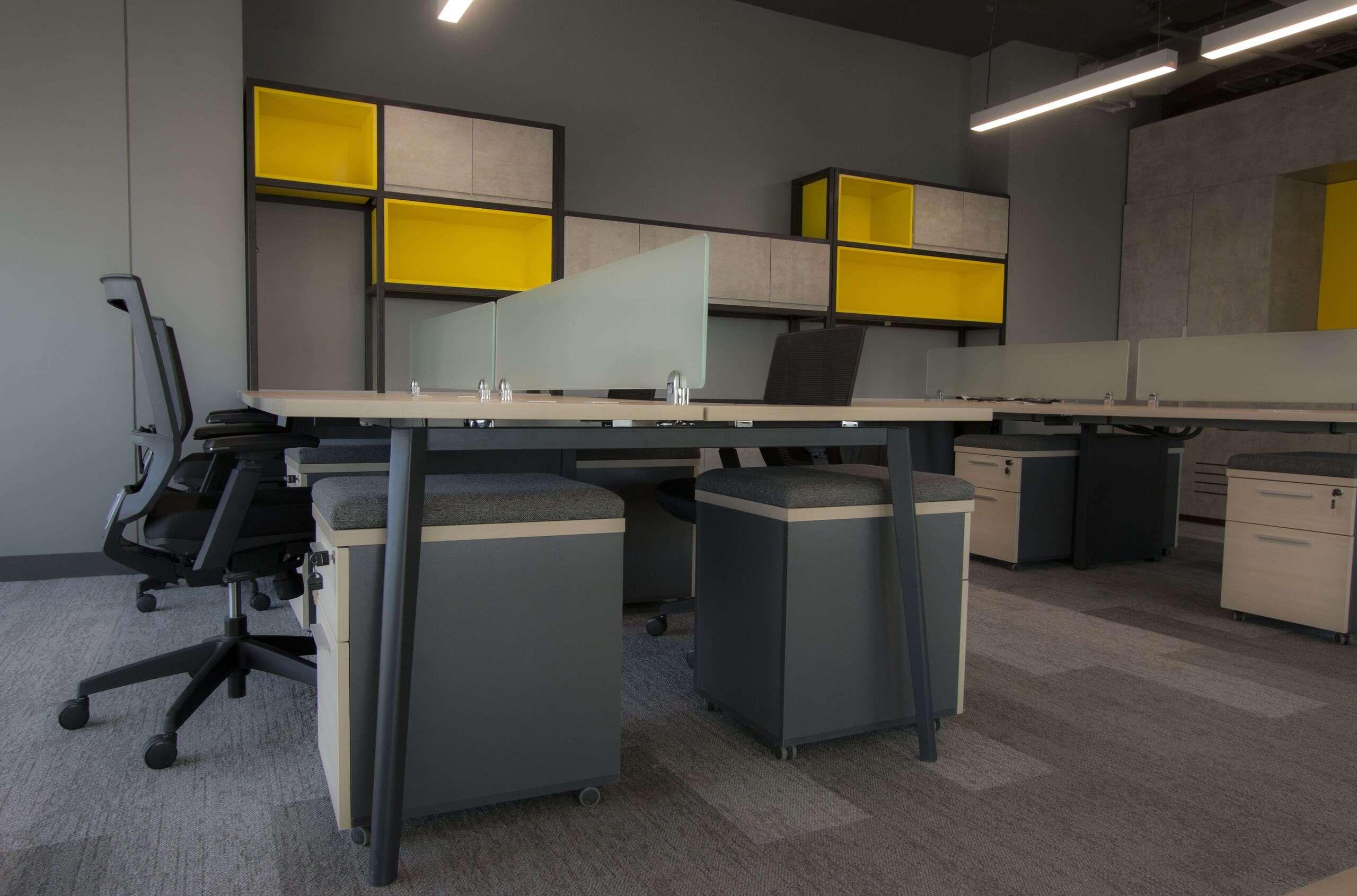 A3 muebles de oficina tipo bench Santiago, Chile