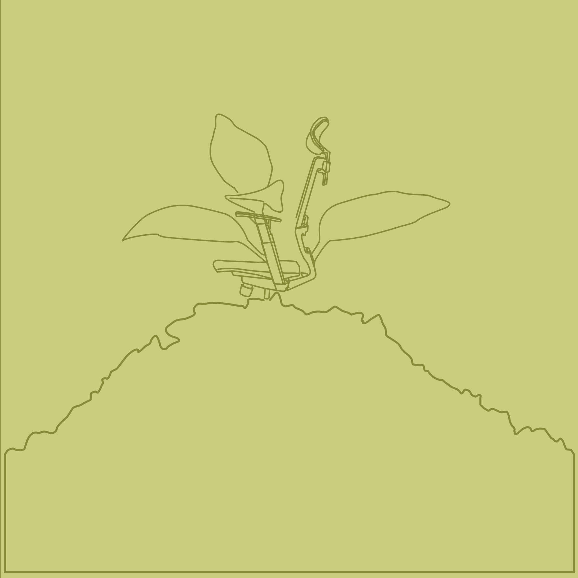 Silla de oficina ecologica
