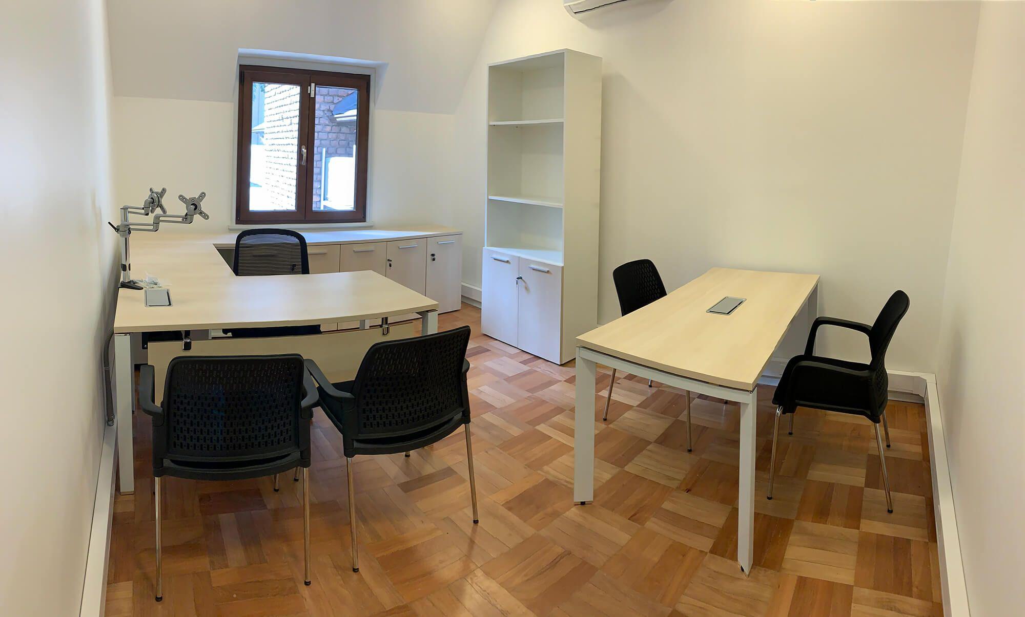 escritorio gerencial en l versa