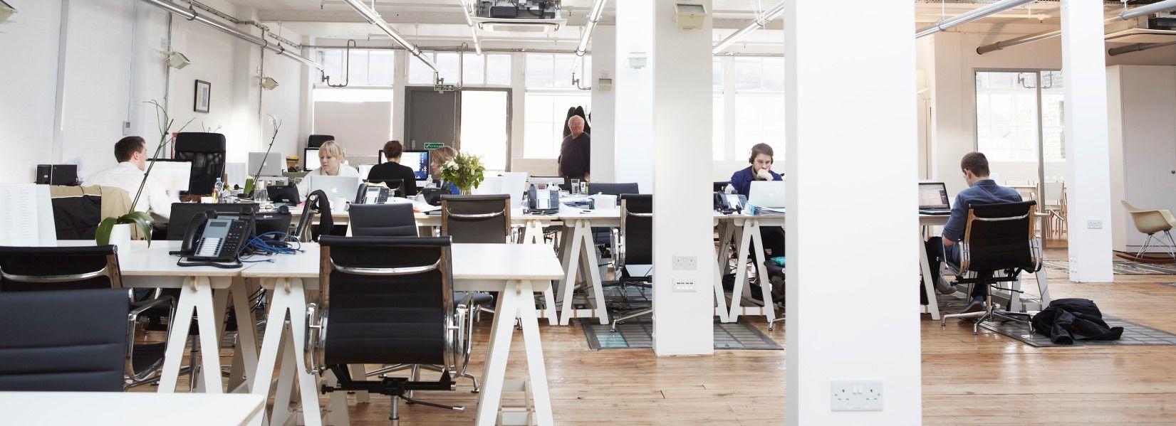 escritorios de oficina para cowork