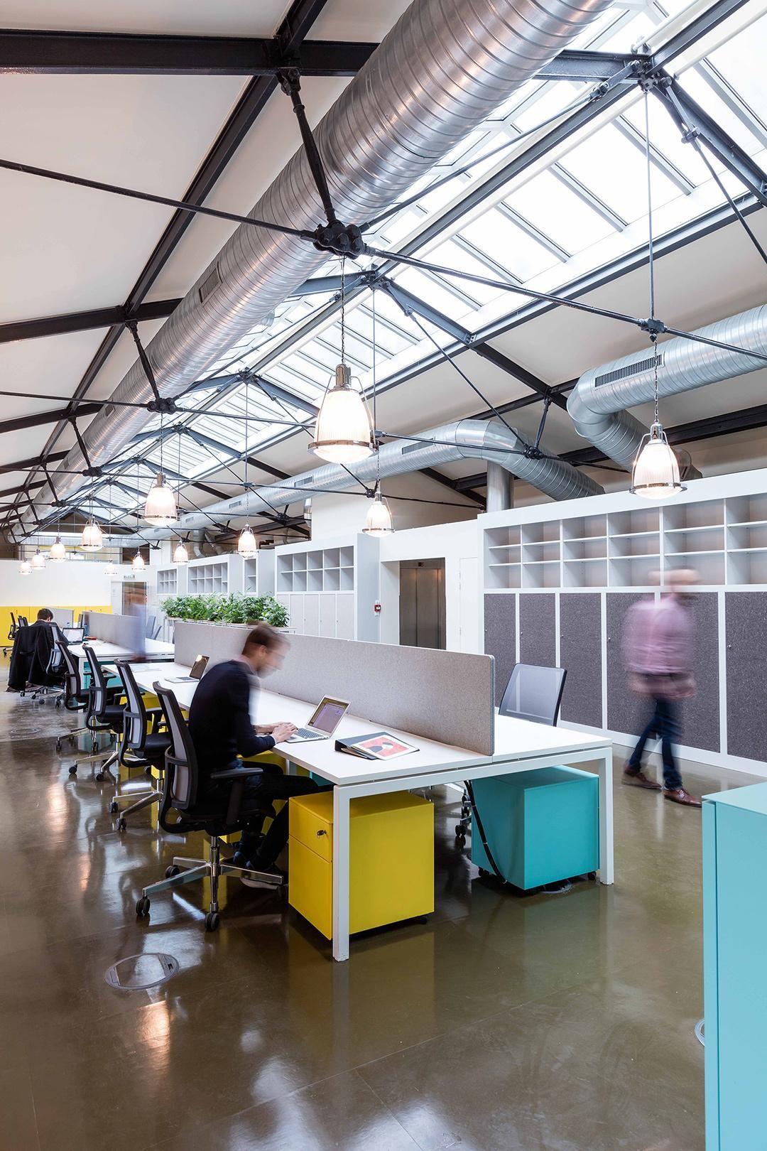 escritorios de oficinas tipo bench en chile