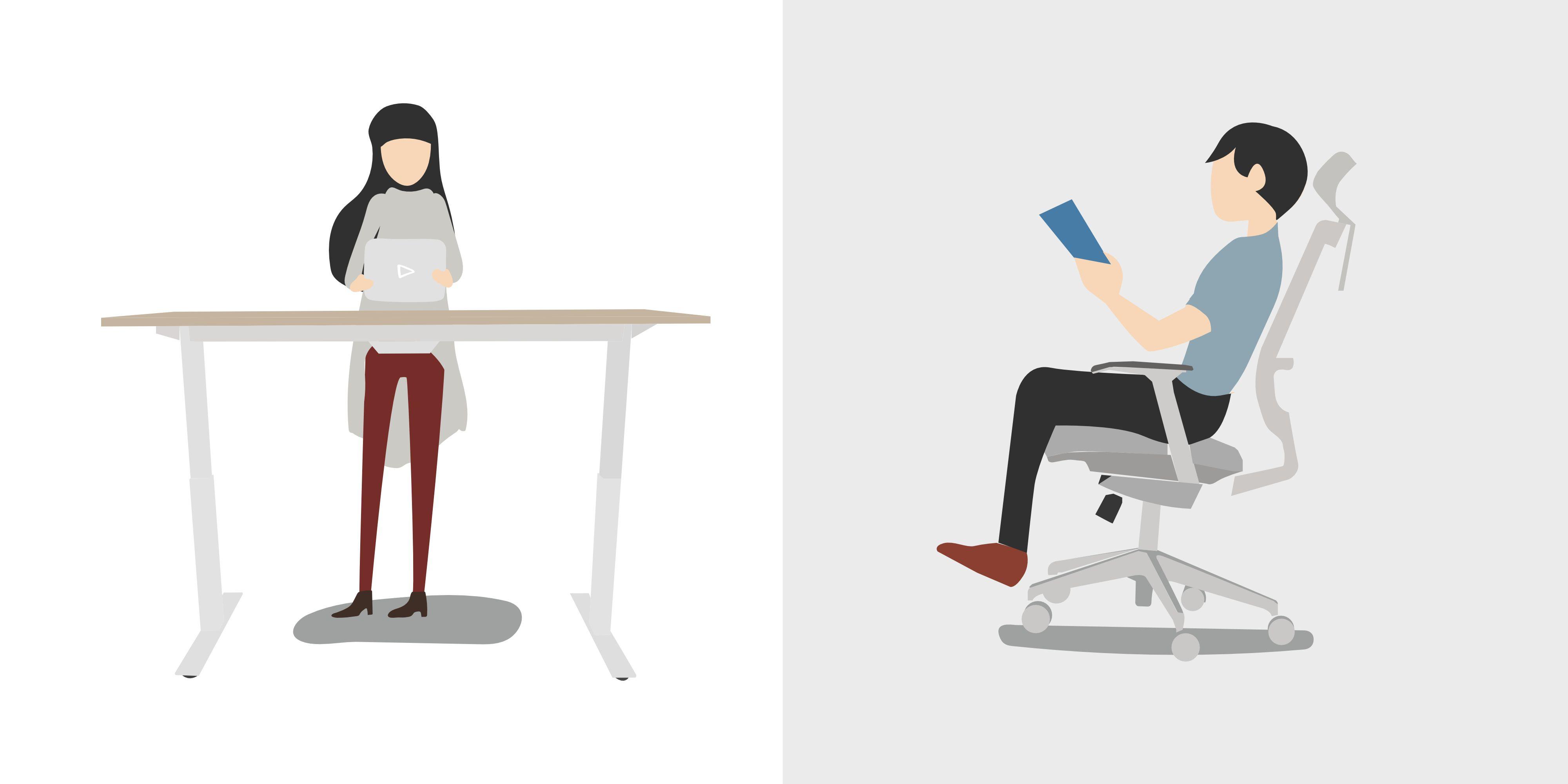 escritorios ergonomicos silla ergonomica