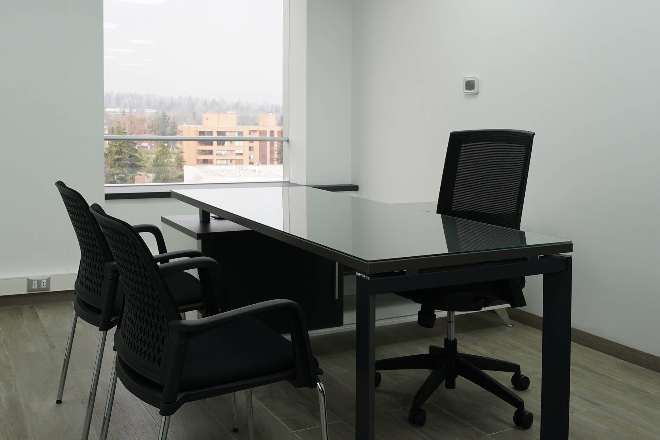 estacion individual escritorio sillas de visita yes silla ejecutiva axis