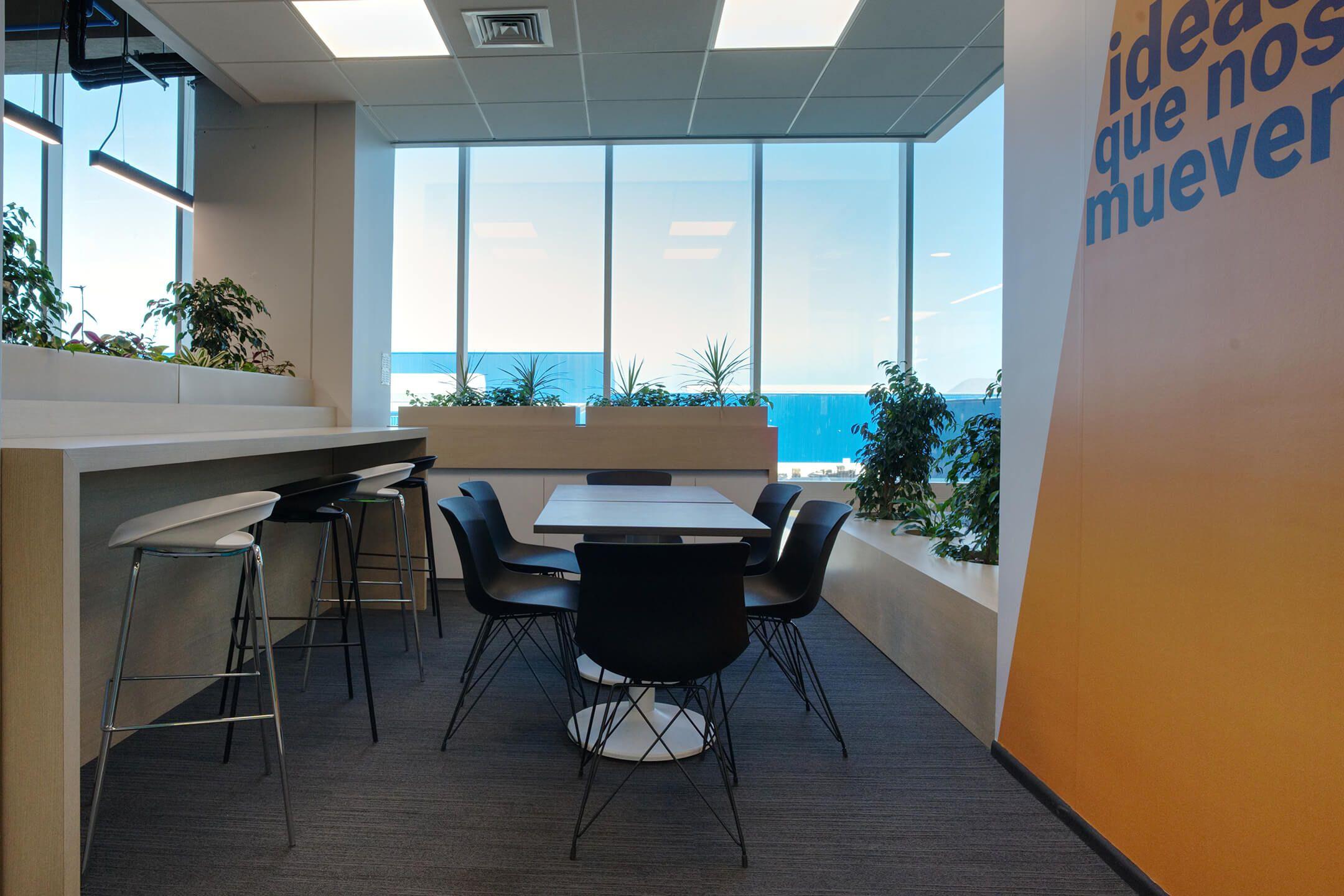 mesa coffee break sillas de diseño