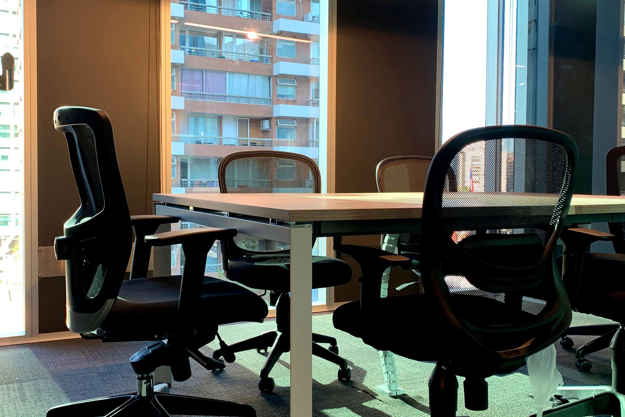 mesa de reunion versa blanca
